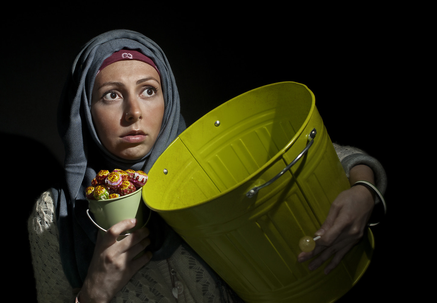 Photograph Bucket Girl by Sydney Lobo on 500px