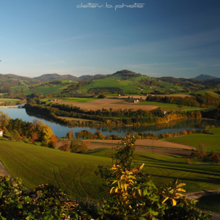 Herbststimmung bei Garsten / Steyr