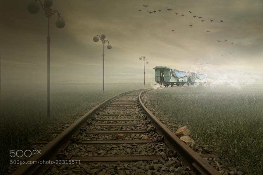 Photograph The Last Train by budi 'ccline' on 500px