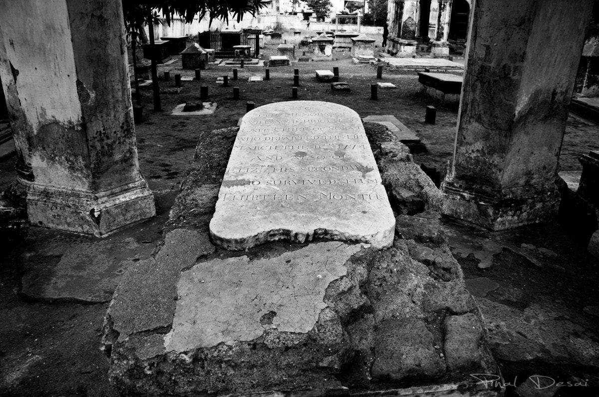 Photograph The Tombstone by Pinal Desai on 500px