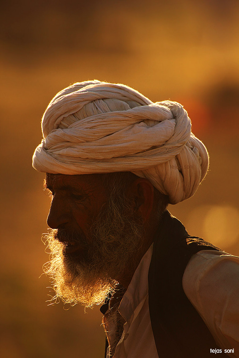 "Photograph ""The Old man and his Beard"" by Tejas Soni on 500px"