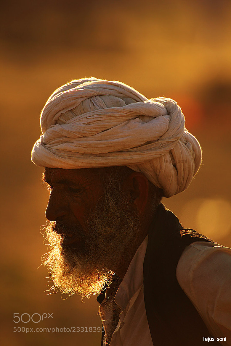 """Photograph """"The Old man and his Beard"""" by Tejas Soni on 500px"""