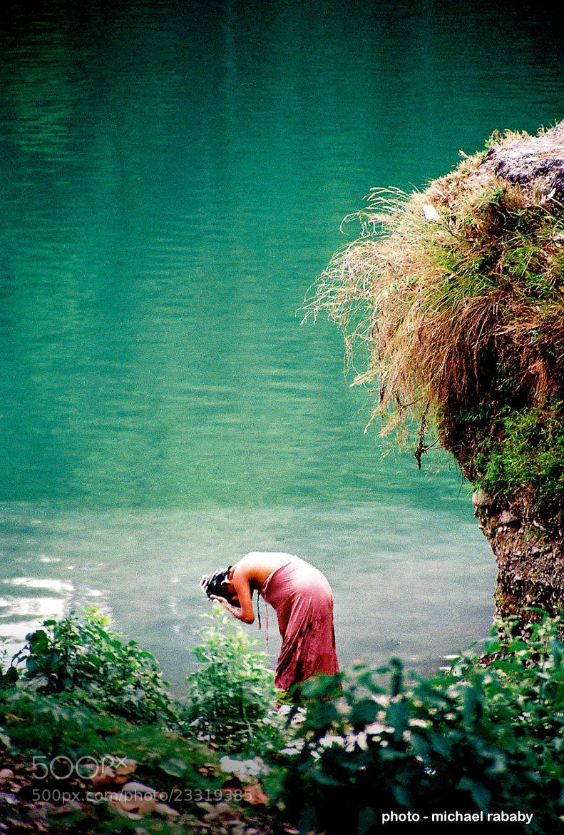 Photograph nepal bather by michael rababy on 500px