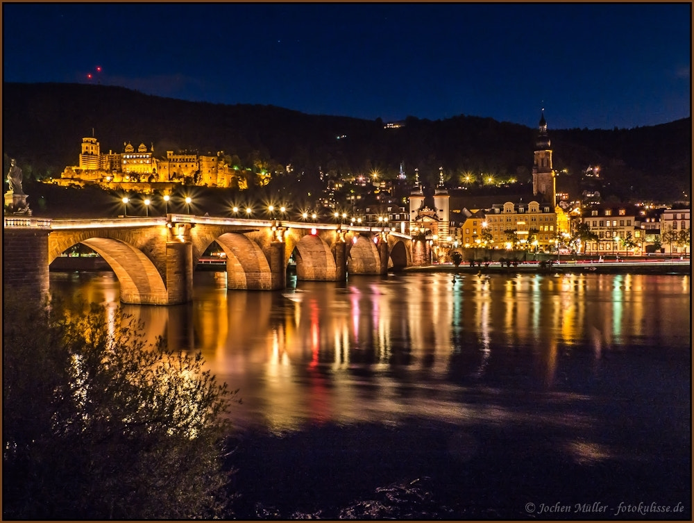Photograph Heidelberg @night #4 by Jochen Müller on 500px