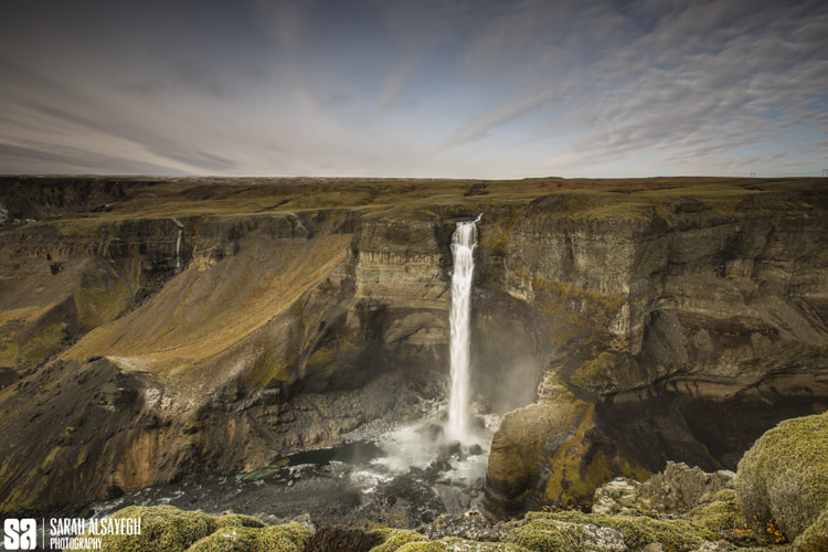 Photograph Iceland - Háifoss Waterfall by Sarah Alsayegh on 500px