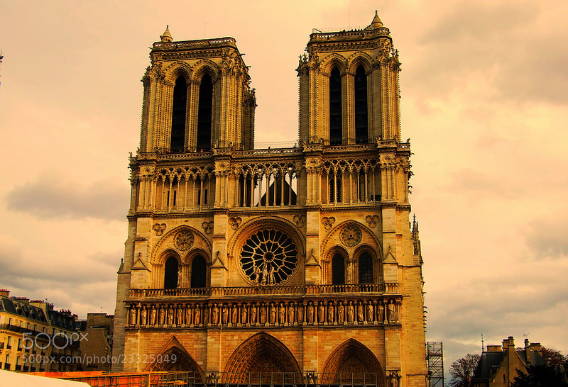 Photograph Notre Dame by Eva Slusar on 500px