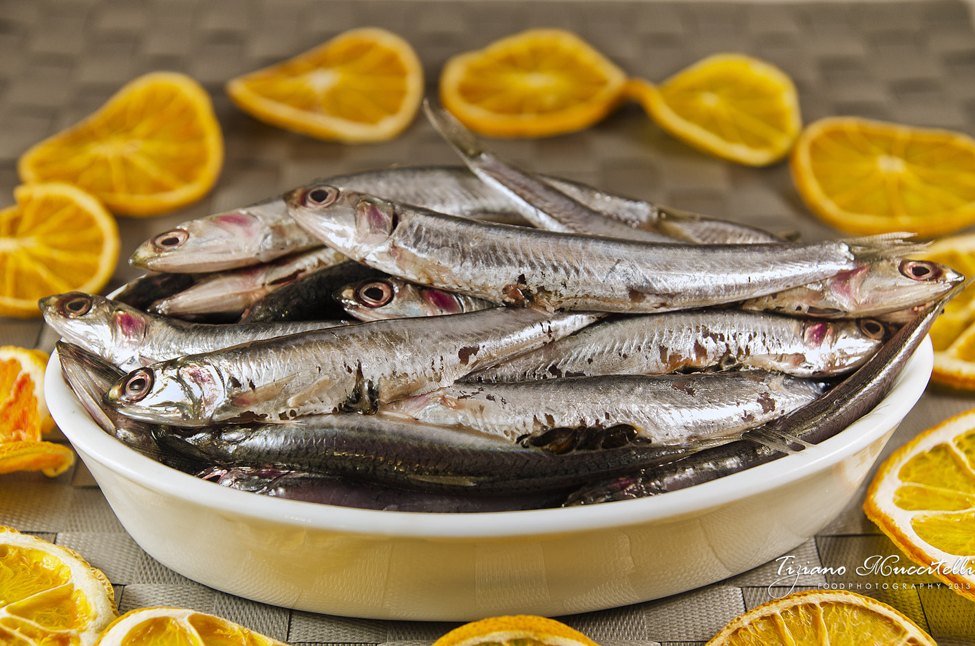 Photograph Fresh anchovies by Chef Tiziano Muccitelli on 500px