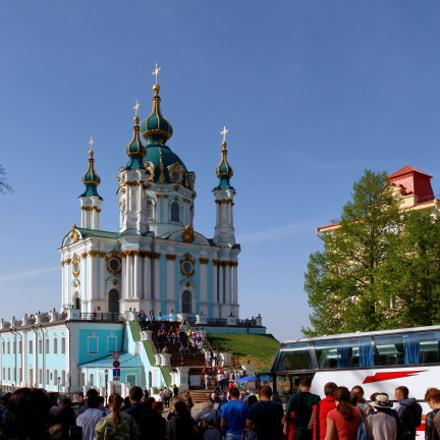Kiev. Saint Andrew's Church