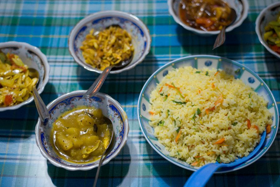 Sri lankan dinner by Blaz Gvajc on 500px.com