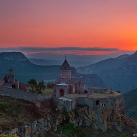 Sunrise in Tatev