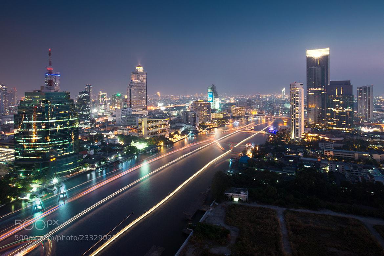 Photograph Bangkok night by Naxerdam Natdanai on 500px
