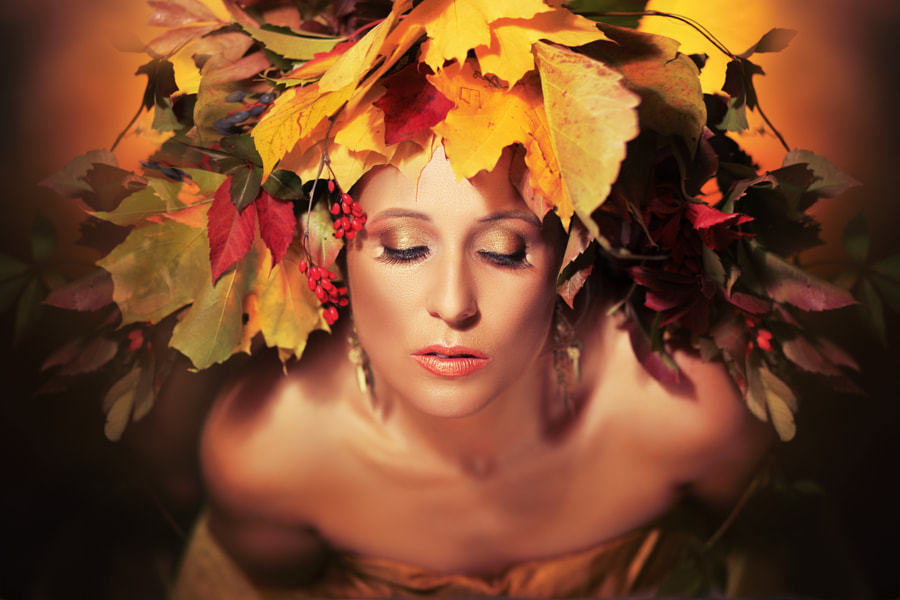 Autumn Queen by Olena Zaskochenko on 500px.com