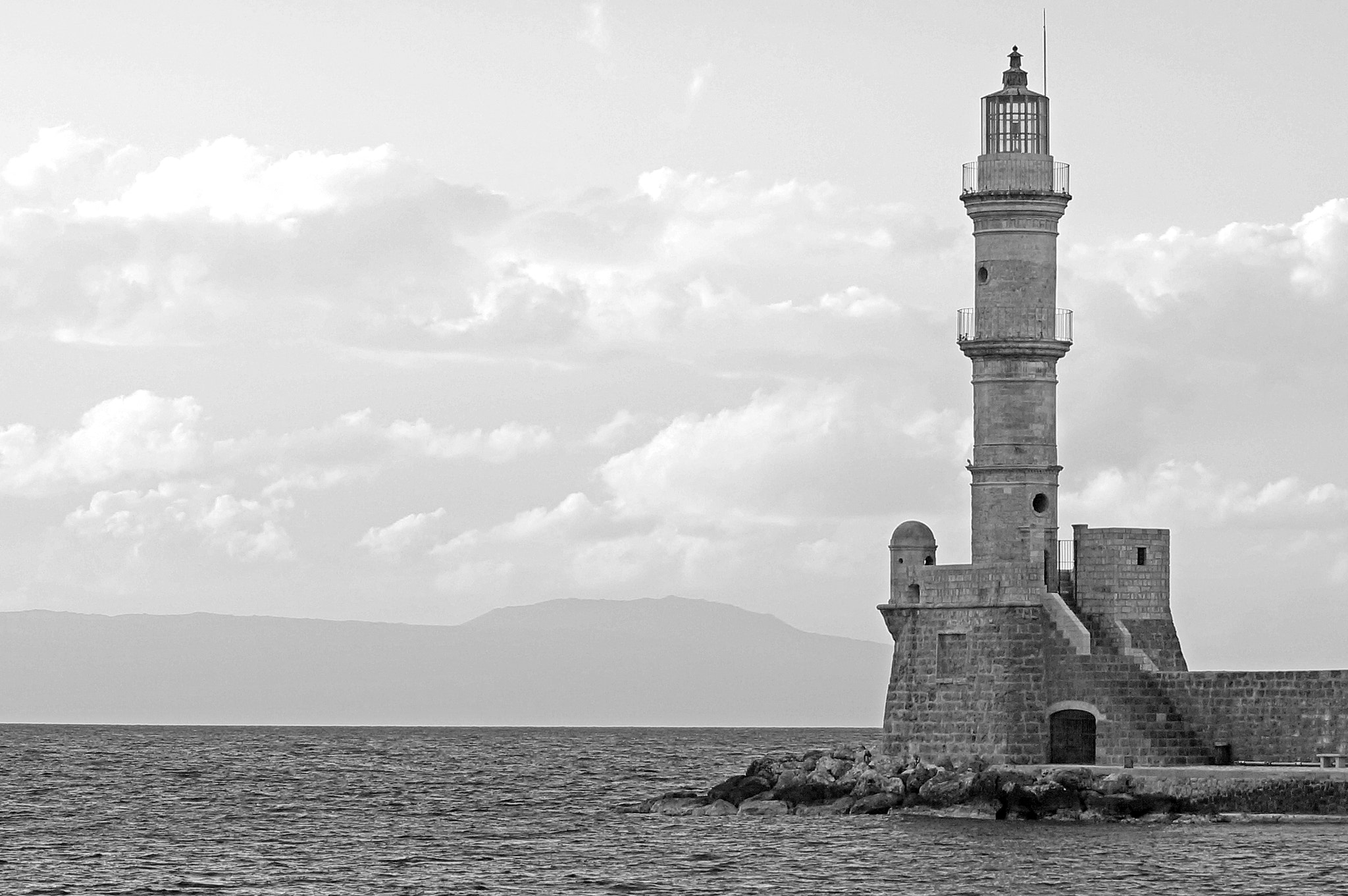Photograph Chania Old Port Lighthouse by Spyros Papaspyropoulos on 500px