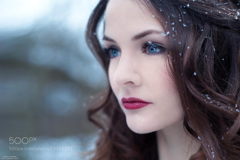 Photograph Snowflake by Hanna Uhlmann on 500px