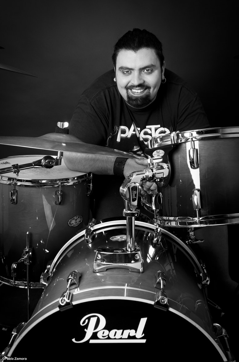 Photograph Drummer by Pablo Zamora on 500px