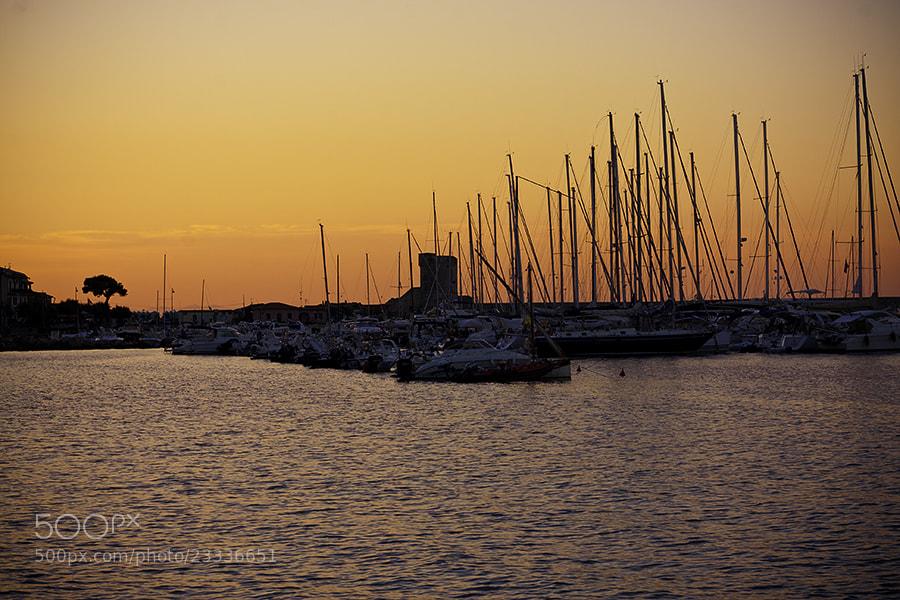 Photograph Tramonto d'Agosto by Davide Rindori on 500px