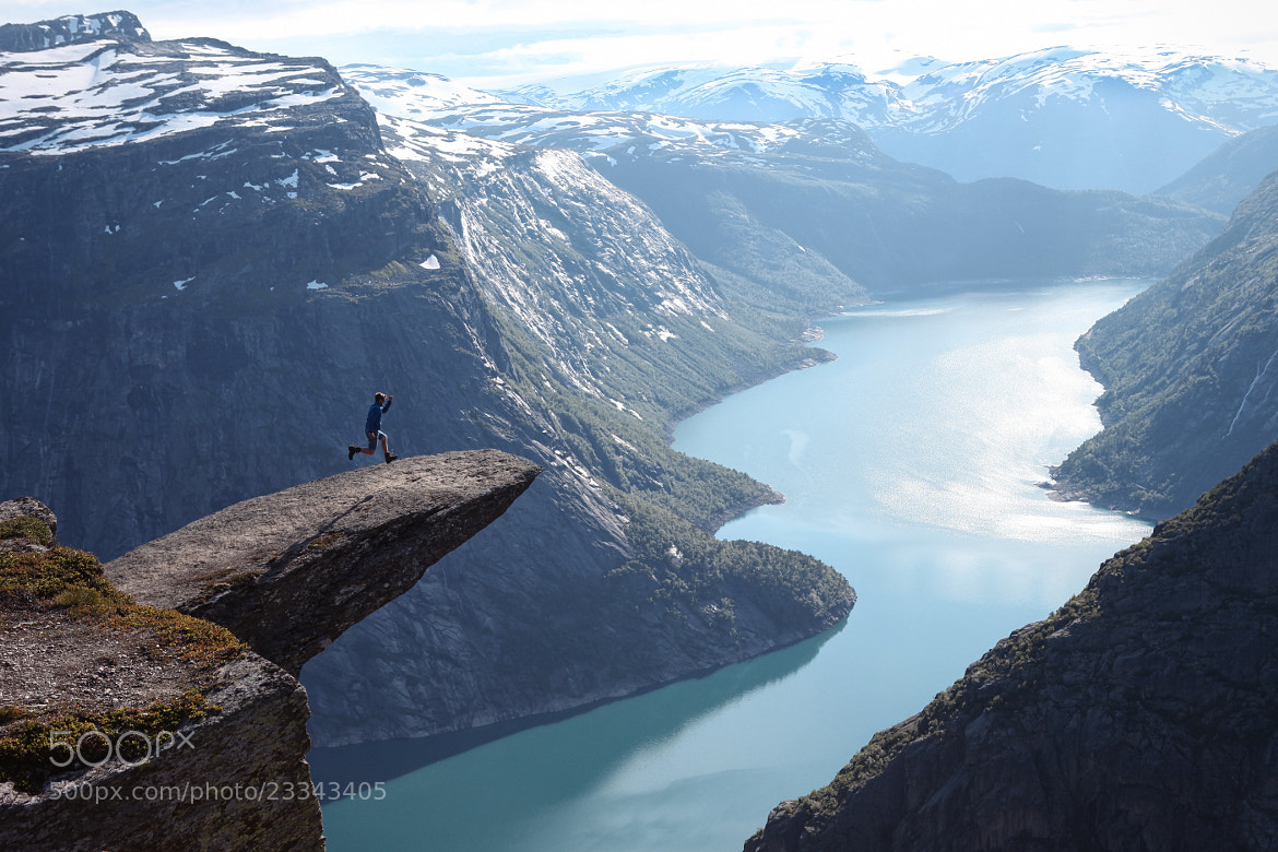 Photograph Trolltunga Norway by Bram Laebens on 500px