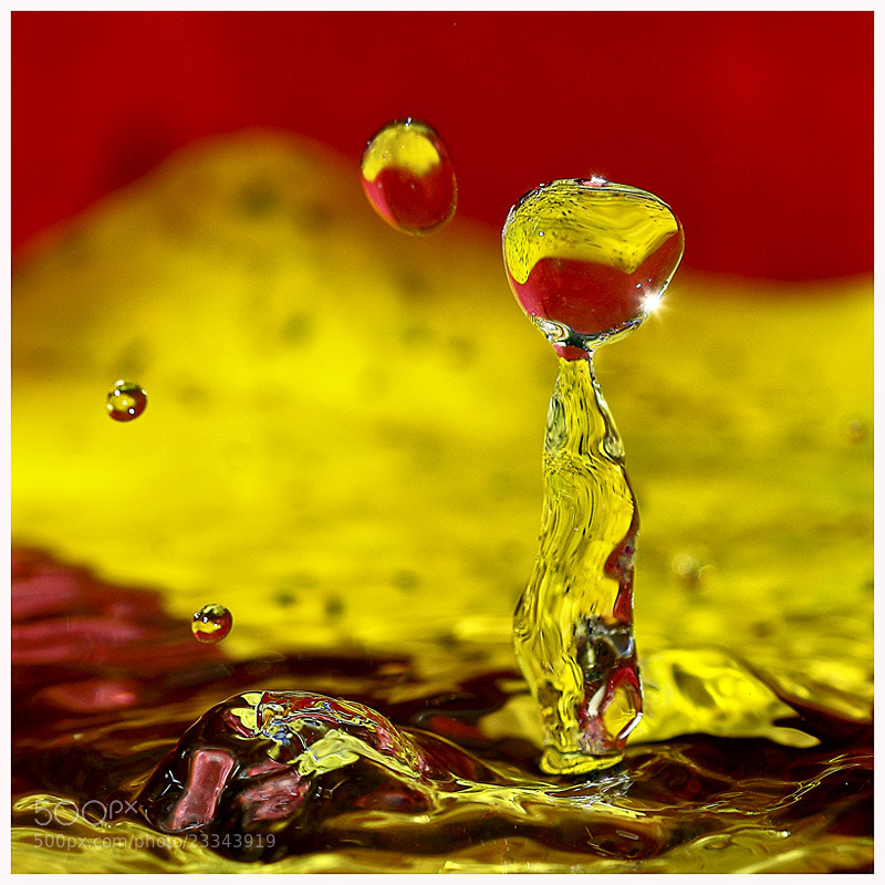Photograph water drop  by mazouz abdelaziz on 500px