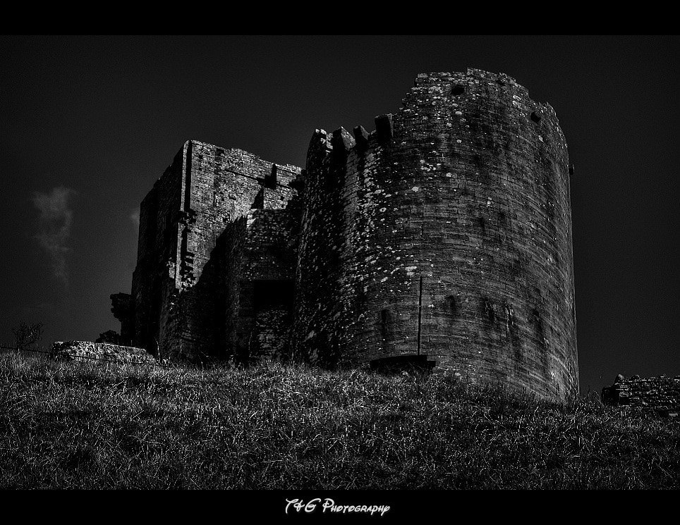 Photograph corfe castle b&w by T&G Photography  on 500px