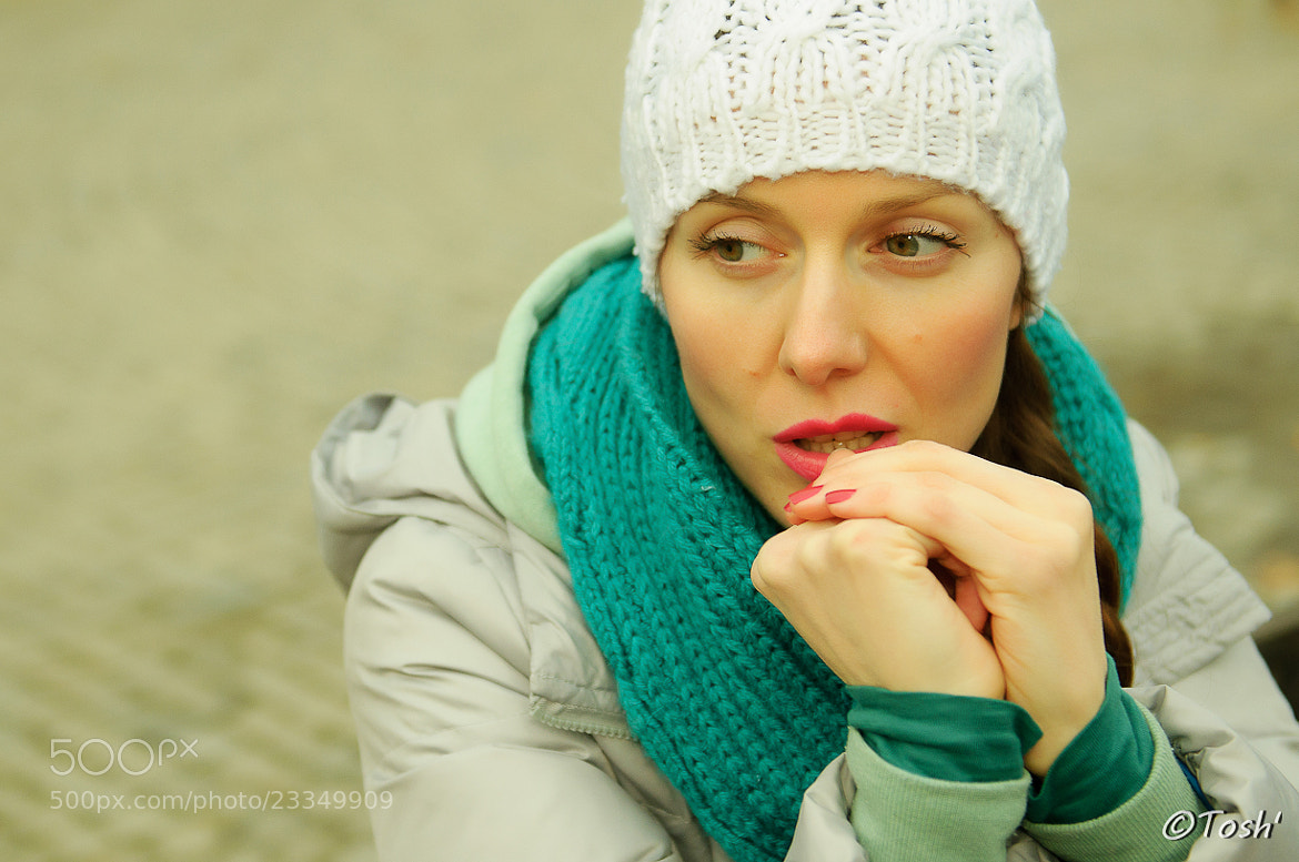 Photograph Winter girl by Toshe Ognjanov on 500px