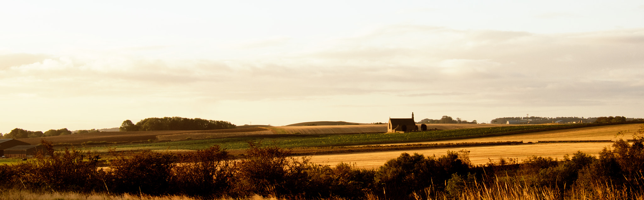 Photograph Church in the Fields by Dan Goldberger on 500px