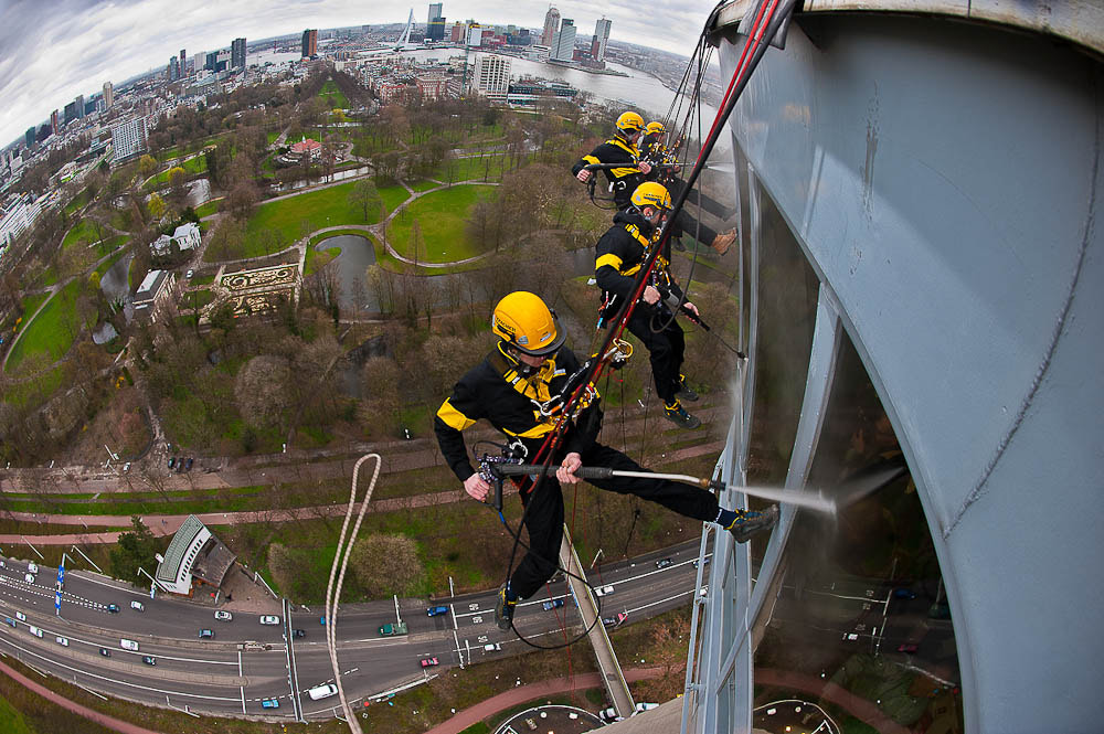 Photograph Karcher on the Euromast by Alex Buiter on 500px