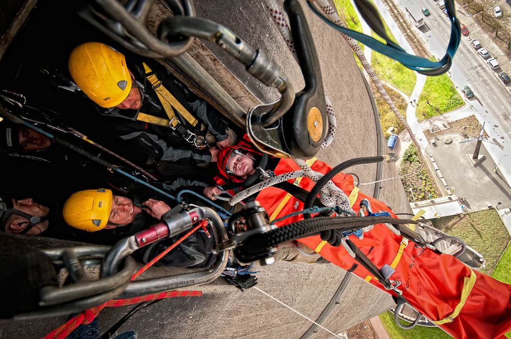 Photograph Rope Access Rescue Training by Alex Buiter on 500px