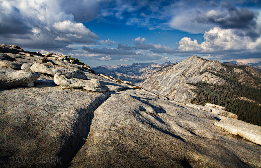 Photograph Cloud's Rest from Half Dome by David Clark on 500px
