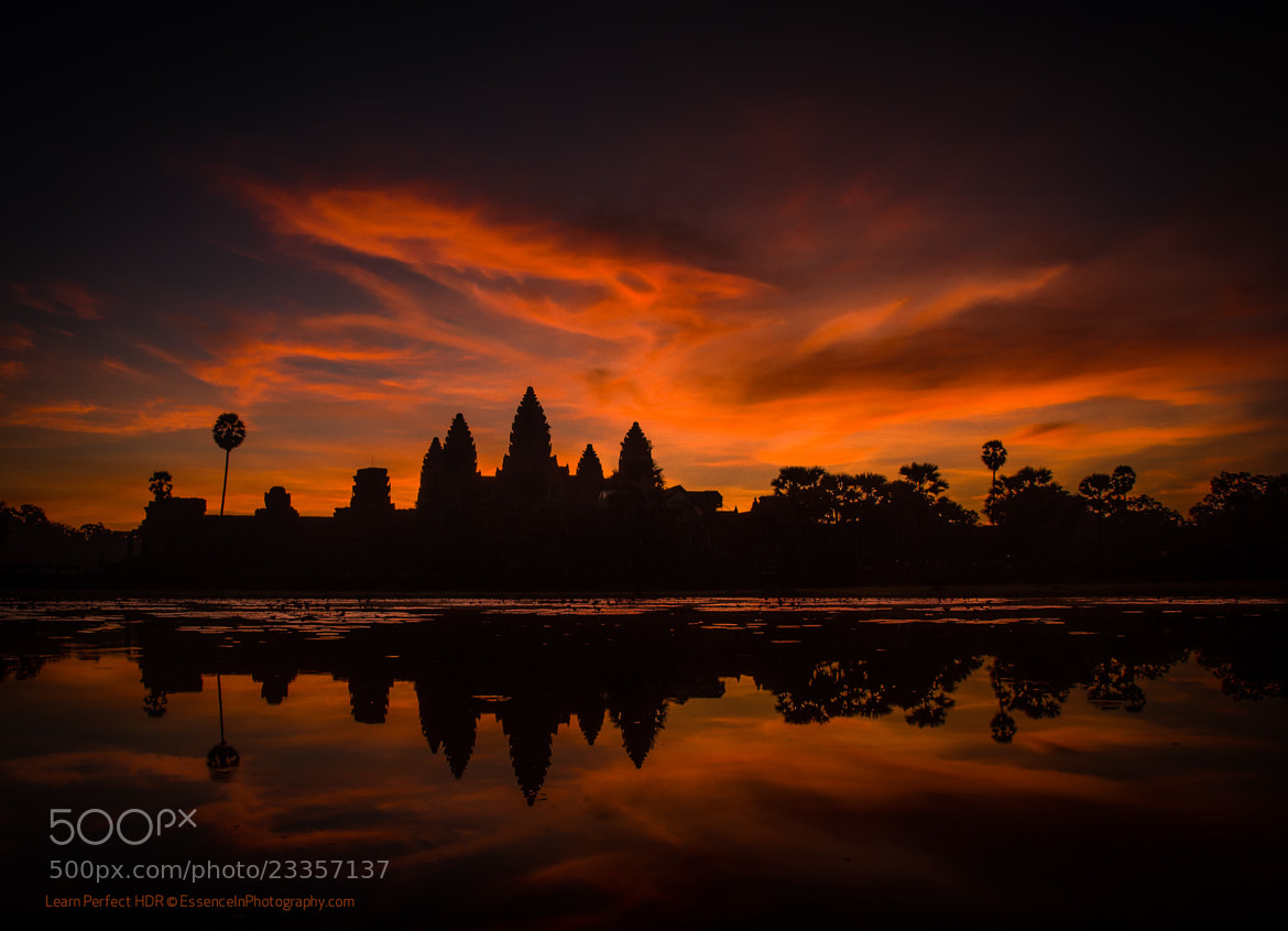 Photograph Dragon Cloud over Angkor Wat at Sunrise by Captain Photo on 500px