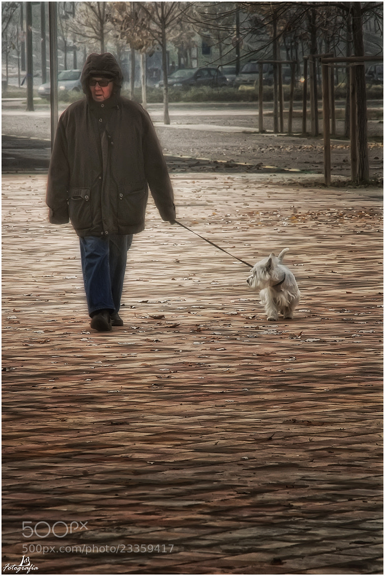 Photograph Walking the dog by Manuel Lancha on 500px