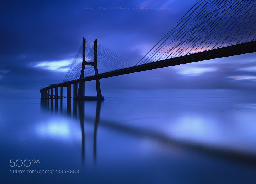 Photograph Blue passage by Hugo Marques on 500px