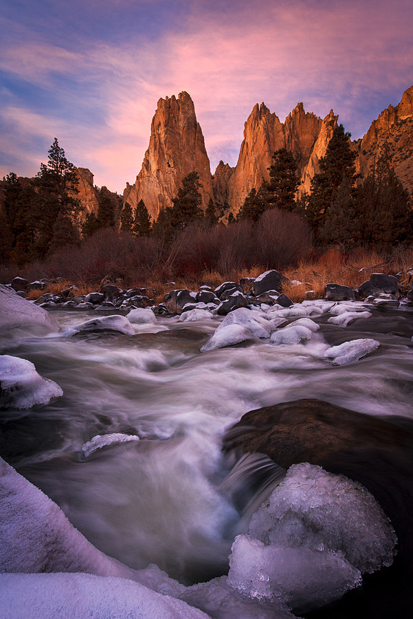 Photograph Sunset Spires by Alex Mody on 500px
