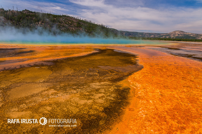 Photograph Grand Prismatic Spring by Rafa Irusta on 500px