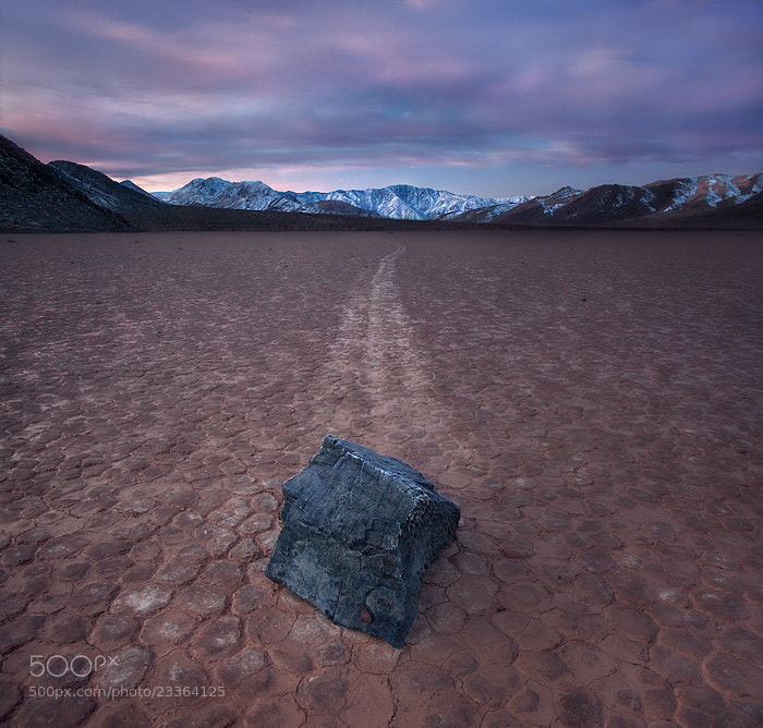 Photograph from the frost (racetrack playa, death valley) by Max Vuong on 500px