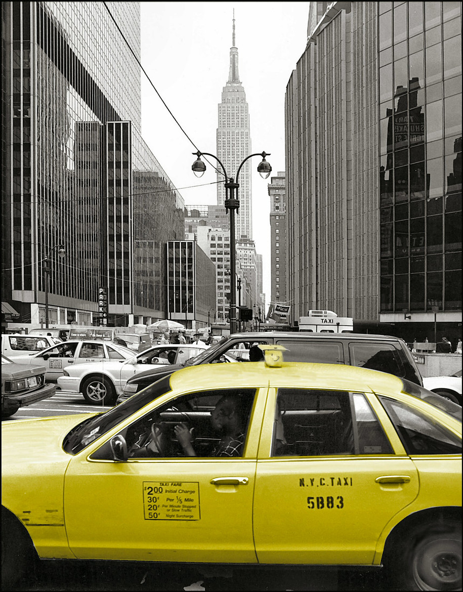 Photograph Yellow Cab NY by Chris Roberts on 500px