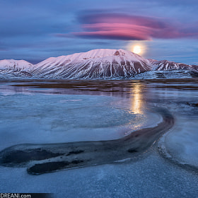 Pink Moonrise by Alessio Andreani (AlessioAndreani)) on 500px.com