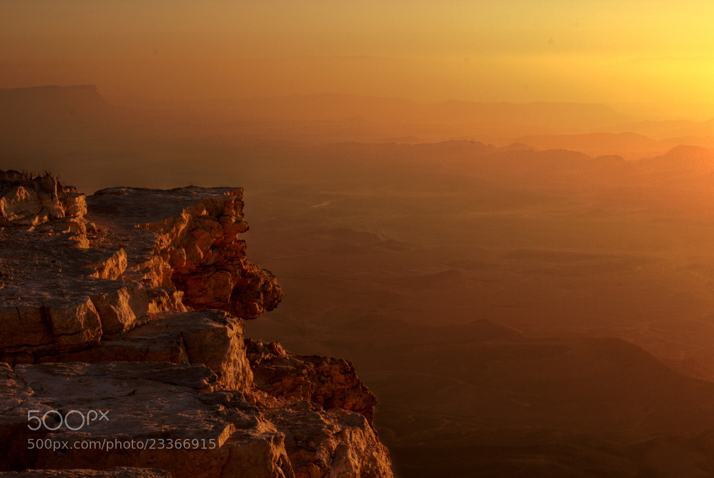 Photograph Sunrise at Makhtesh Ramon by Zach Taylor on 500px