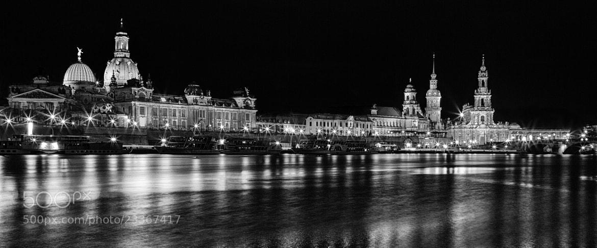 Photograph Dresden at night by Sebastian Hoffmann on 500px