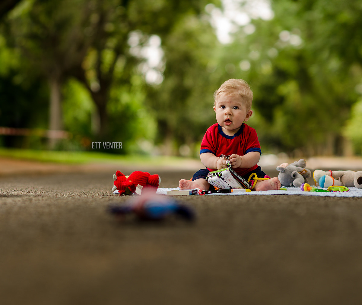 Photograph Playing in the Street by Ett Venter on 500px