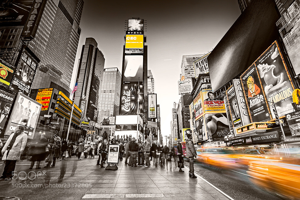 Photograph New York City Times Square by Torsten Hufsky on 500px
