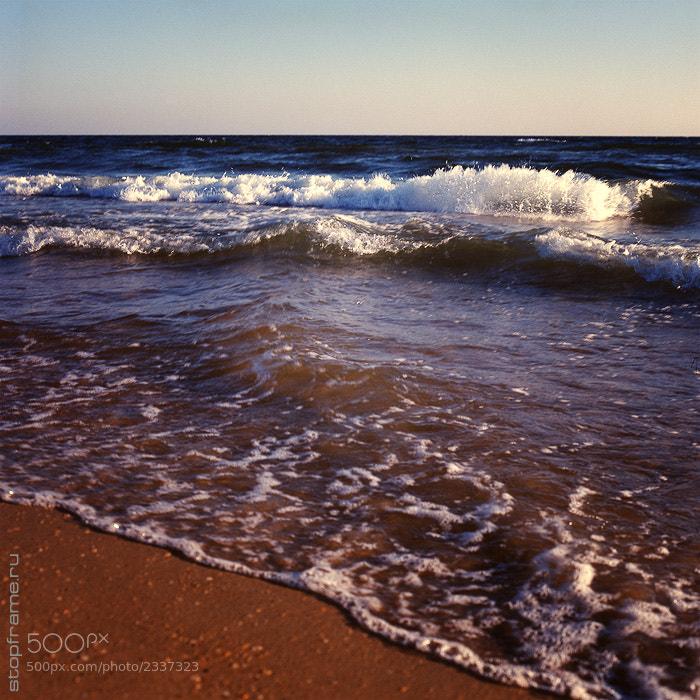 Photograph Sea at the Vityazevo village by Aleksandr Volkodav on 500px