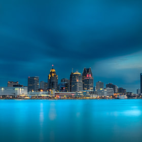 Detroit before the Dawn by Steven Wosina (swosina)) on 500px.com