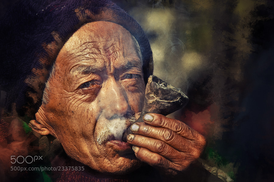 Photograph Smoking in the Nepal by Sam Dobson on 500px