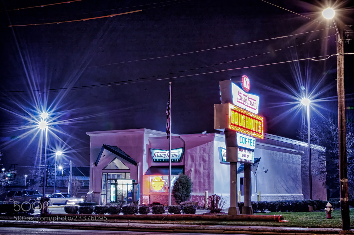 Photograph Krispy Kreme by Marcus Allen on 500px