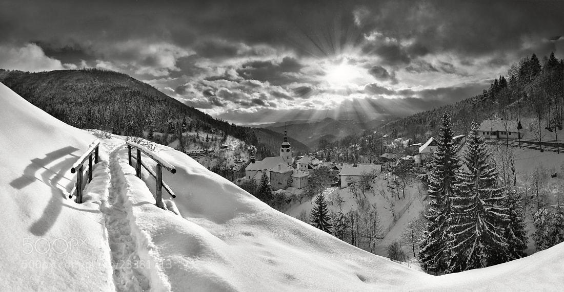 Photograph Winter in Spania Dolina by Matej Kovac on 500px