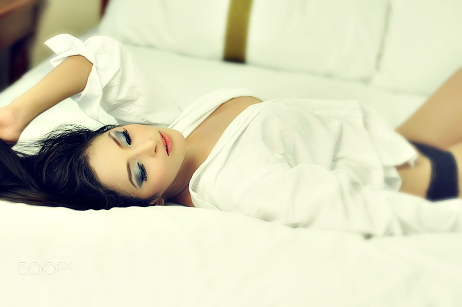 Photograph Angel in Bed by Fritz Agapito on 500px