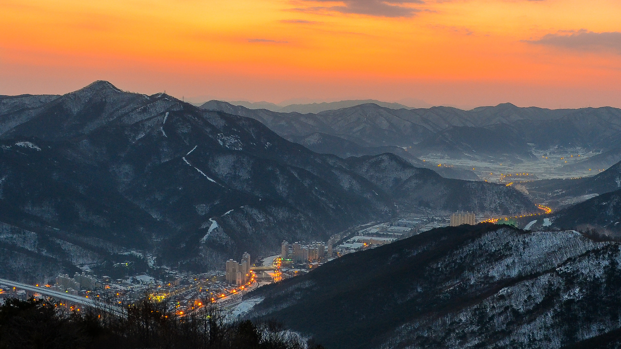 Photograph First Sunrise of 2013 in Daegu by Brad Tombers on 500px
