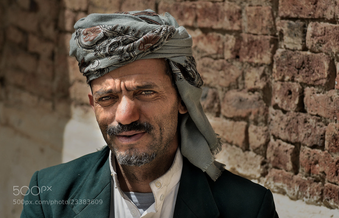 Photograph Yemeni Man by Csilla Zelko on 500px