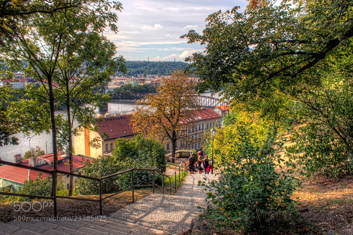 Photograph Walking Down from Vyšehrad by Nico Trinkhaus on 500px