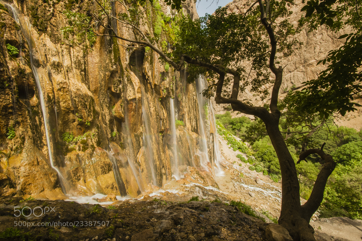 Photograph Margon Falls by Hosein Esmaeelbegi on 500px